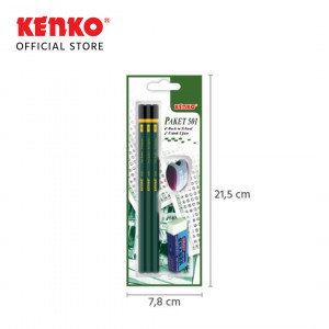 PAKET PENCIL BLISTER CARD 501