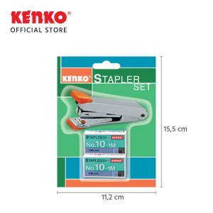 STAPLER HD-10 Set Blister Card Random