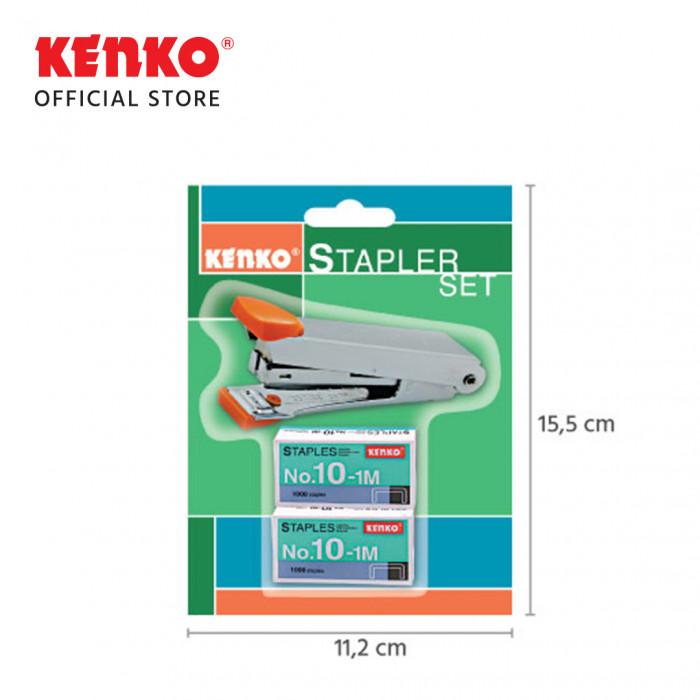 STAPLER HD-10 Set Blister Card Random