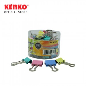 COLOR BINDER CLIP No.107 - SET 4 PCS