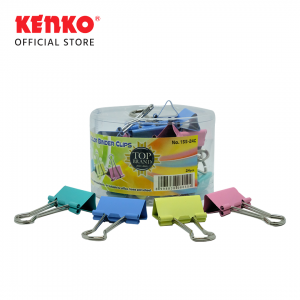 COLOR BINDER CLIP No.155 - SET 4 PCS