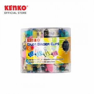 COLOR BINDER CLIP No.107 - 40C