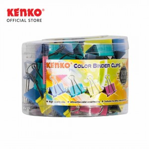 COLOR BINDER CLIP No.111 - 48C