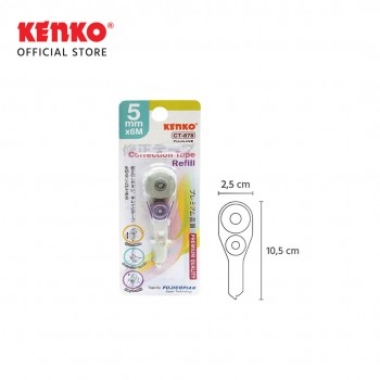 CORRECTION TAPE CT-878 Refill (6 M x 5 Mm)