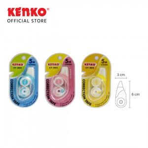 CORRECTION TAPE CT-203 (5 M x 5 Mm)
