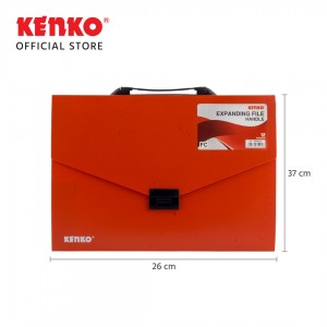 EXPANDING FILE EF-8408FDC Folio With Handle