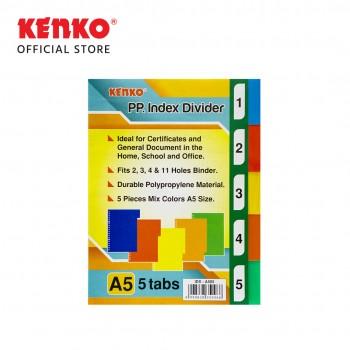 INDEX DIVIDER IDV-A505 A5 / 5 TAB