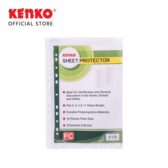 SHEET PROTECTOR SPT100-FC CLEAR