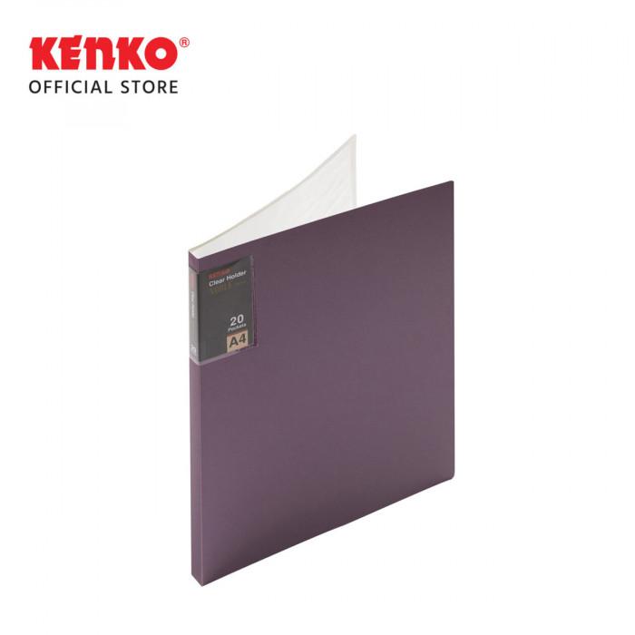 CLEAR HOLDER CH720M - A4 20SH Metallic Color
