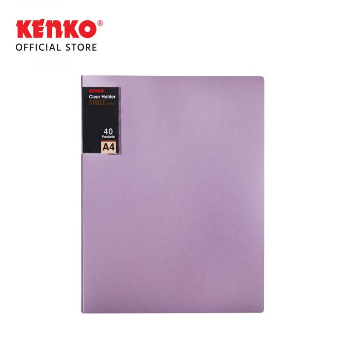 CLEAR HOLDER CH740M - A4 40SH Metallic Color