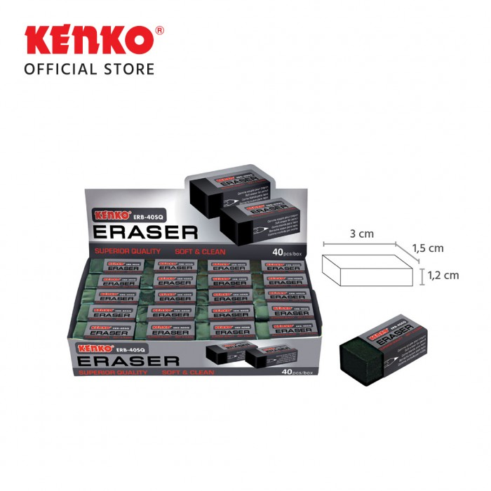 ERASER ERB-40SQ - 4 PCS