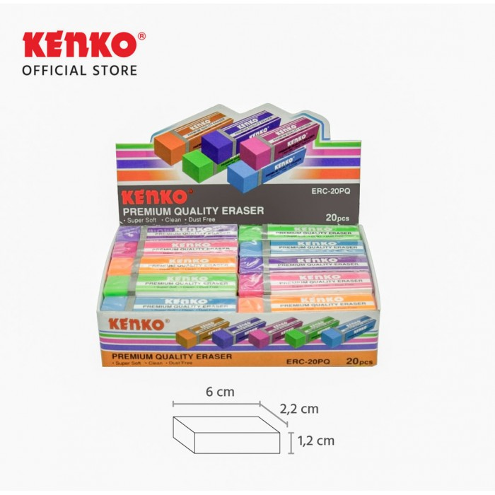 ERASER ERC-20PQ Mix Color 5 PCS