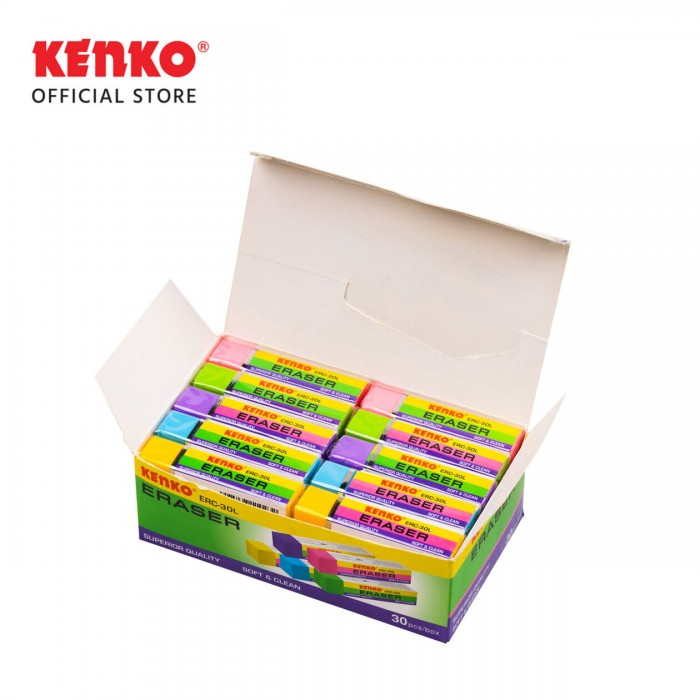 ERASER ERC-30L Mix 5 PCS
