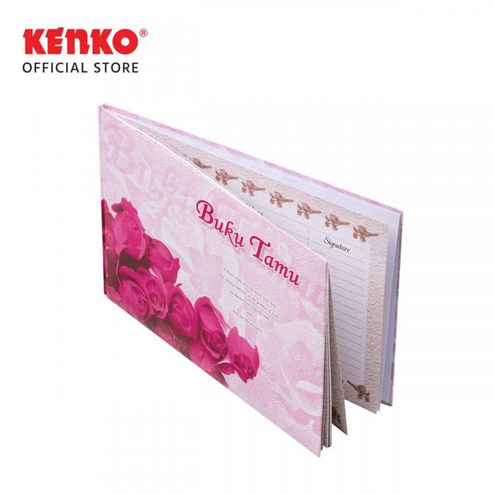 BUKU TAMU BT-2920-01 (Pink Flower)