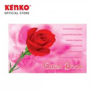 BUKU TAMU BT-2920-03 (Red Flower)