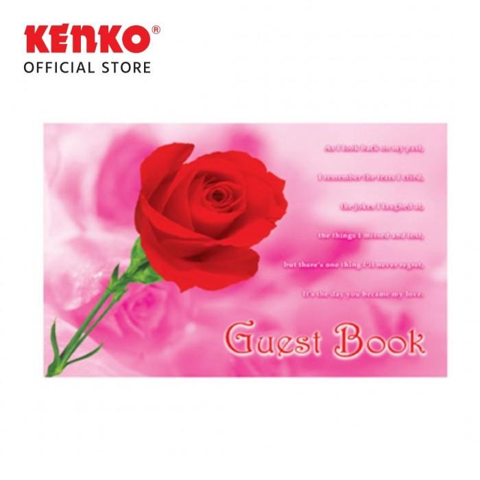 BUKU TAMU BT-2920-03 (Red Flower)