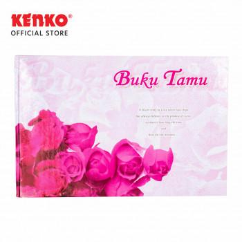 BUKU TAMU BT-3224-01 (Pink Flower)