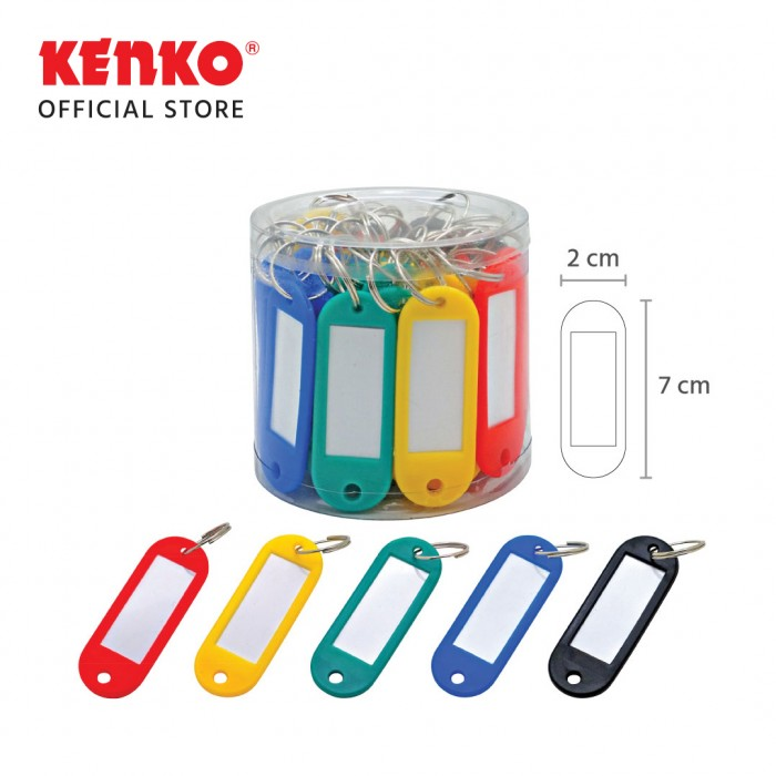 KEY RING KR-50 color 50pc/drum