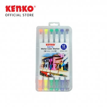 DUAL TIP WATER COLOR MARKER 12C2