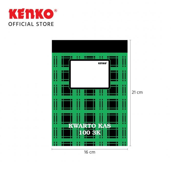 NOTA KAS KWARTO BKK-100-3K (3 Kolom 100 Lembar)