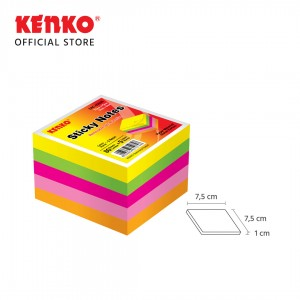 STICK NOTE CUBE SNC-0303N Cube - Neon Color
