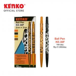 BALLPEN KE-30F (Zoo n' zoo) Black Mix Color 3 PCS