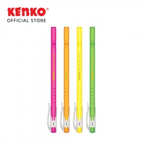 BALLPEN TIL S-2 SH Mix Color 4 PCS