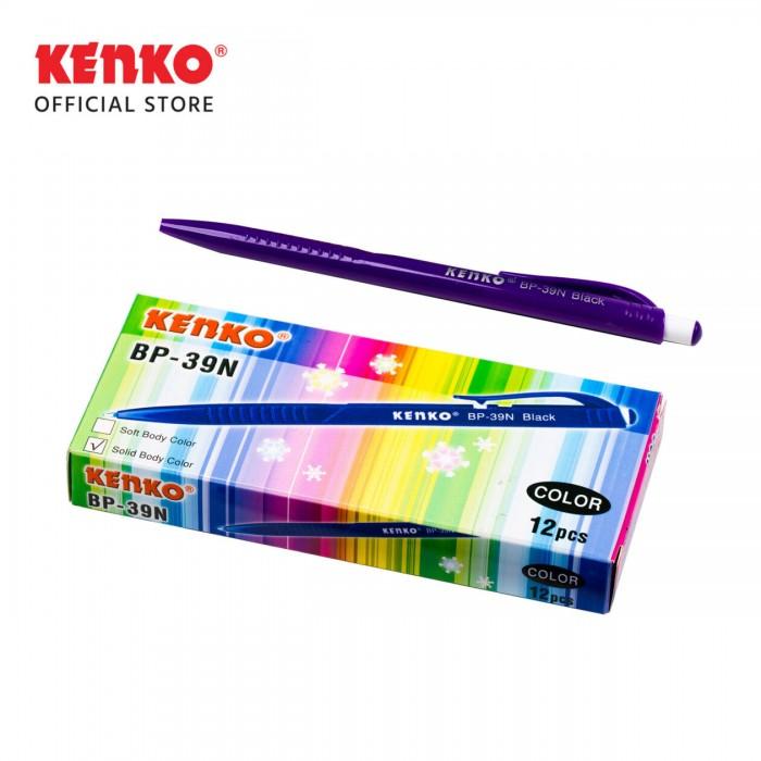 BALLPEN BP-39 N (Solid) Mix Color 4 PCS