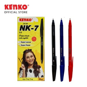 PEN GEL OIL NK-7 Original -