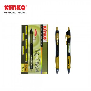 GEL PEN K-1 GOLD Retractable