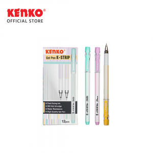 GEL PEN K-STRIP Mix Color 3 PCS