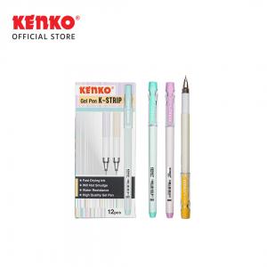 GEL PEN K-STRIP Mix Color 3 PCS