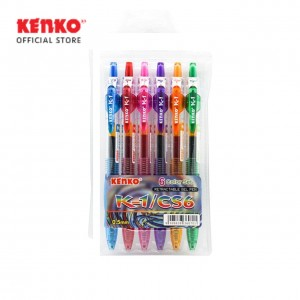 GEL PEN K-1 CS6 Retractable Set
