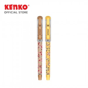 GEL PEN BG-20 (Batik) Hitam Random Color