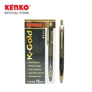 GEL PEN K-2 GOLD Retractable