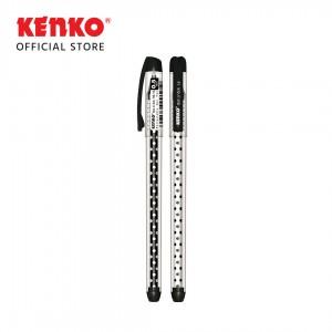 GEL PEN KE-16 (Dot n' dot) Black Mix Color 2 PCS
