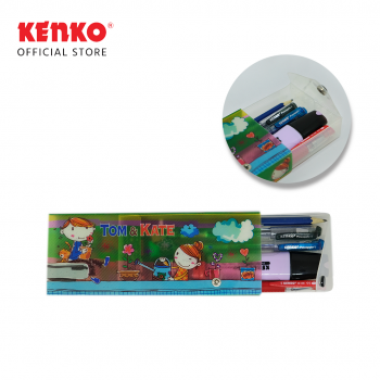 PENCIL CASE PC-0719 PVC Random Color