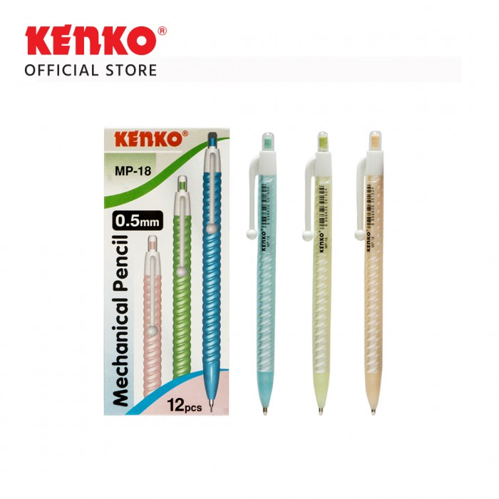 MECHANICAL PENCIL MP-07  (0.5 Mm) Random Color