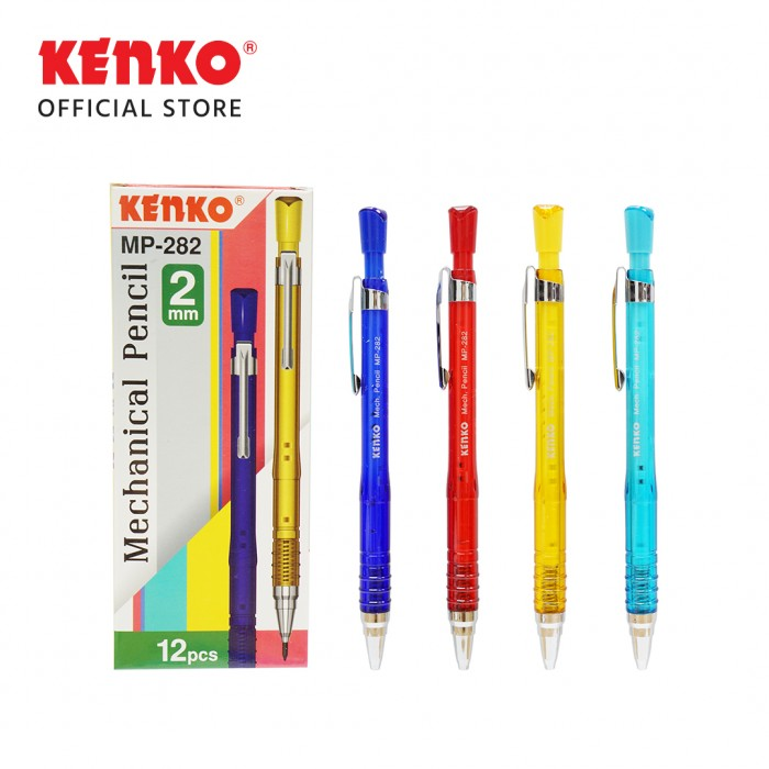 MECHANICAL PENCIL MP-282  (2.0 Mm) Random Color