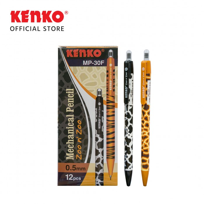 MECHANICAL PENCIL MP-30F  (0.5 Mm) Zoo n Zoo Random Color