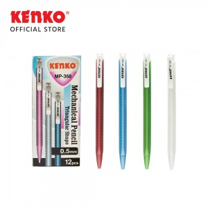 MECHANICAL PENCIL MP-368  (0.5 Mm) Triangular Random Color