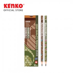 PENCIL 2B-6906BTK Batik Mix Color 2 PCS