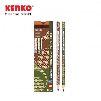 PENCIL 2B-6906BTK Batik Mix Color 2 PCS