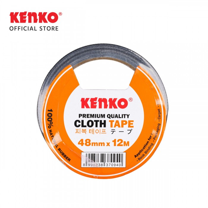 CLOTH TAPE Orange 48Mm/15Y  (Card-Color)