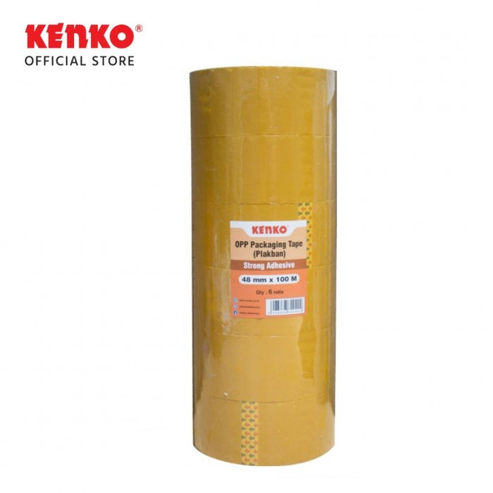 OPP TAPE 48 Mm - Orange Core (100 M)