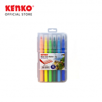 12 COLOR SOFT BRUSH MARKER