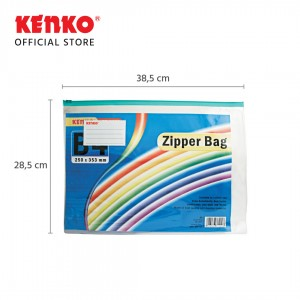 PVC ZIPPER BAG ZB-2839 B4