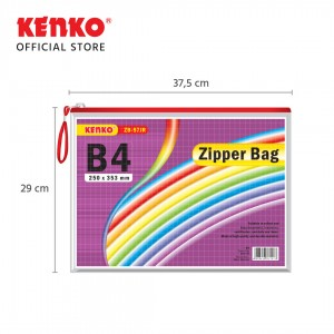 PVC ZIPPER BAG ZB-57 B4 Jaring